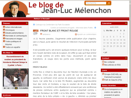 « Front blanc »
